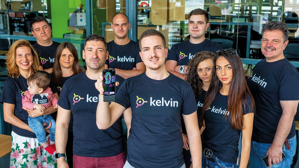 Kelvin Health manages to identify a variety of diseases with the help of thermal-imaging cameras.